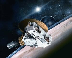 Ilustrasi wahana antariksa New Horizon. Sumber: NASA's Marshall Space Flight Center. CC BY-NC 2.0